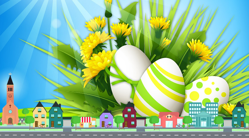 Una Buona Pasqua di pace e serenità