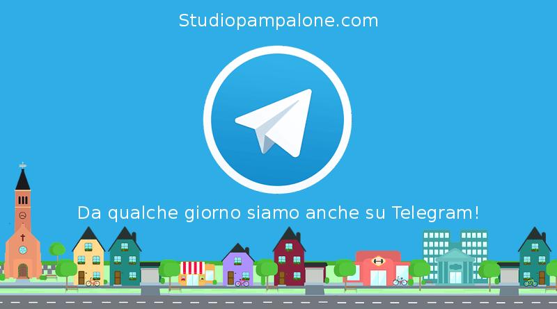 Da qualche giorno siamo anche su Telegram!